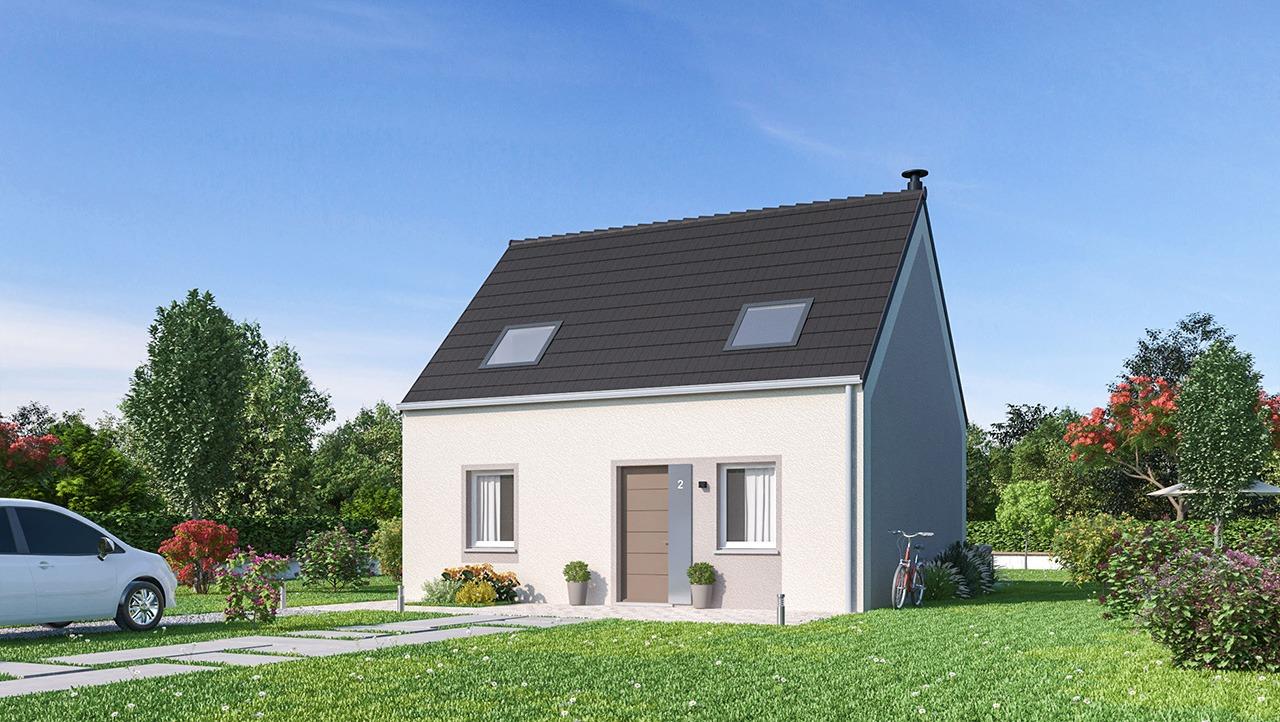 Maisons + Terrains du constructeur MAISONS PHENIX • 87 m² • LE PLESSIS BELLEVILLE