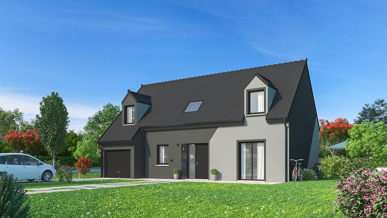 Maisons + Terrains du constructeur MAISONS PHENIX • 125 m² • BRIE COMTE ROBERT