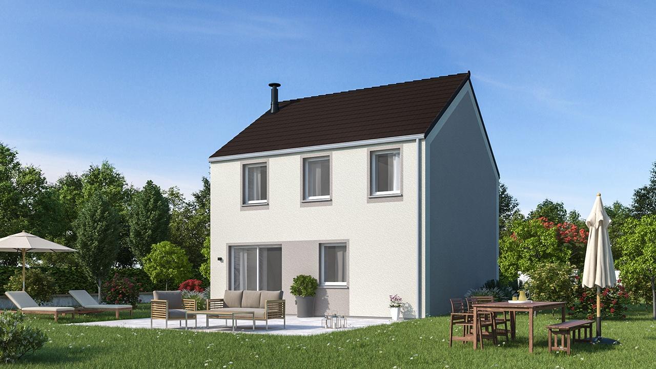Maisons + Terrains du constructeur MAISONS PHENIX • 101 m² • VAUX LE PENIL