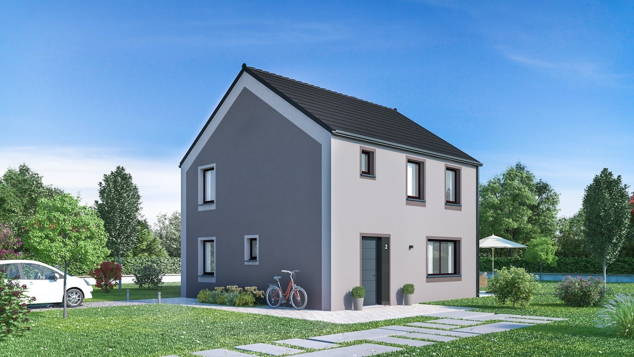 Maisons + Terrains du constructeur MAISONS PHENIX • 124 m² • LIVRY SUR SEINE