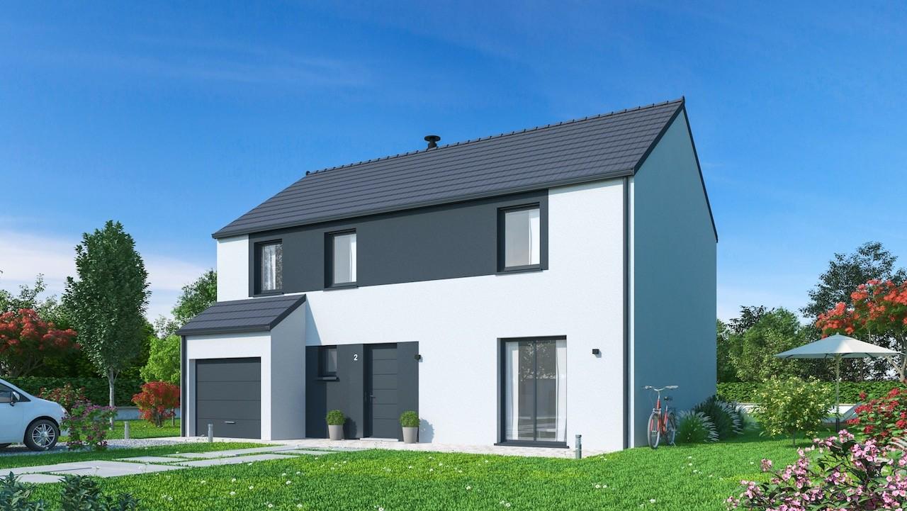 Maisons + Terrains du constructeur MAISONS PHENIX • 132 m² • DAMMARIE LES LYS