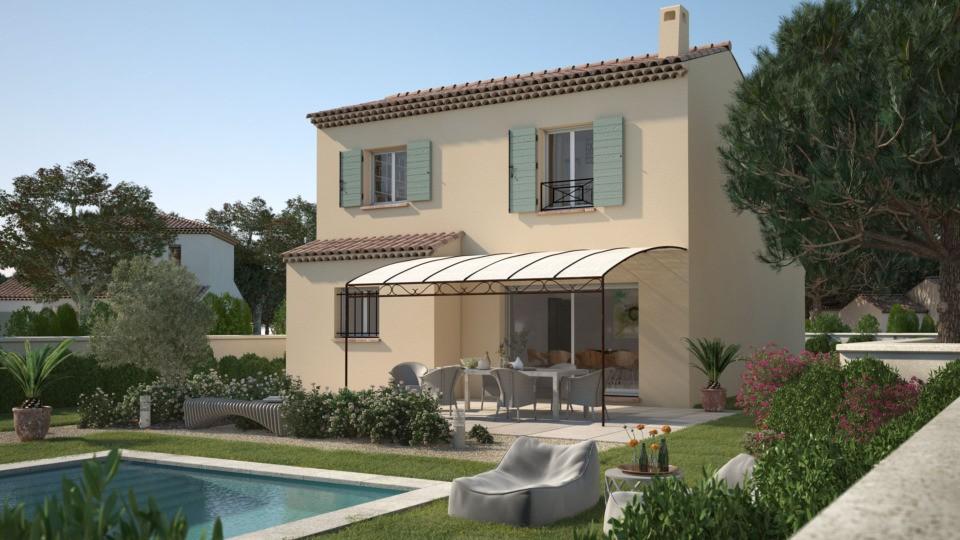 Maisons + Terrains du constructeur LES MAISONS DE MANON • 95 m² • PEPIEUX