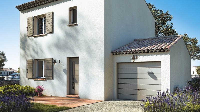 Maisons + Terrains du constructeur LES MAISONS DE MANON • 80 m² • MOUSSAN