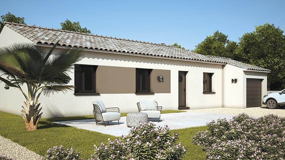 Maisons + Terrains du constructeur LES MAISONS DE MANON • 90 m² • MOUSSAN
