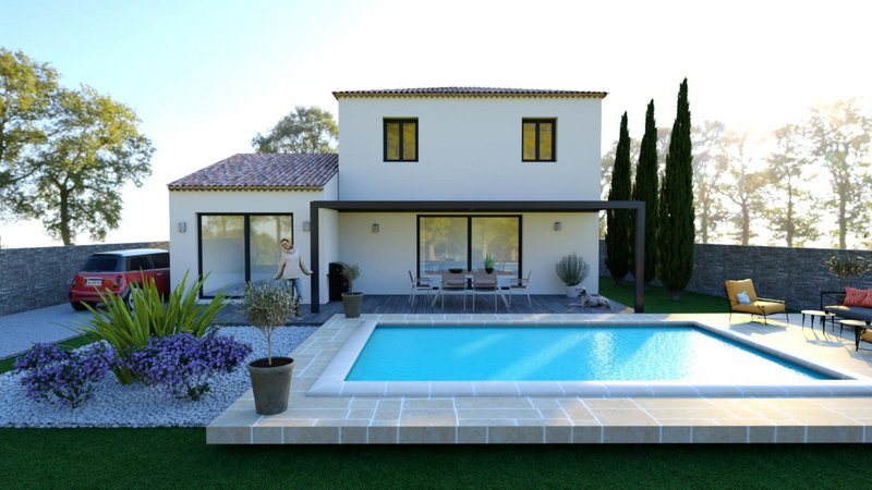 Terrains du constructeur VILLAS PRISME • 109 m² • GREASQUE