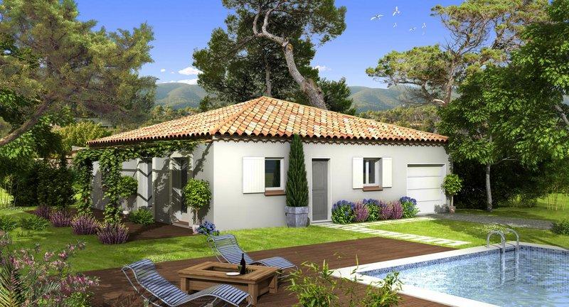 Maisons du constructeur VILLAS PRISME • 80 m² • MALLEMORT