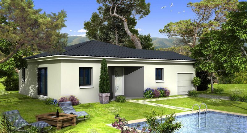 Maisons du constructeur VILLAS PRISME • 85 m² • SALON DE PROVENCE