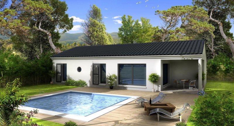 Maisons du constructeur VILLAS PRISME • 100 m² • PELISSANNE