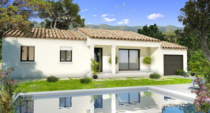 Maisons du constructeur VILLAS PRISME • 80 m² • ROGNAC