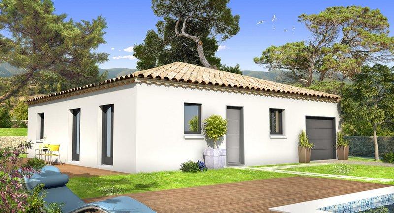 Maisons du constructeur VILLAS PRISME • 75 m² • GREASQUE