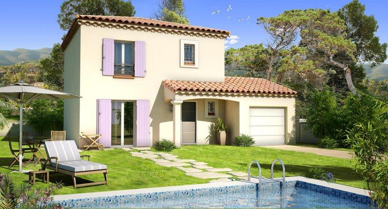 Maisons du constructeur VILLAS PRISME • 90 m² • PEYPIN