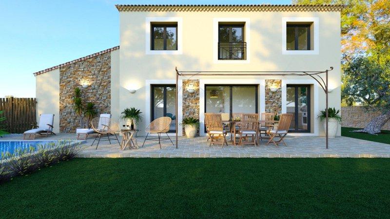 Maisons du constructeur VILLAS PRISME • 95 m² • PEYPIN