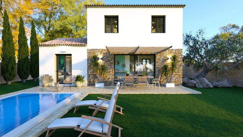 Maisons du constructeur VILLAS PRISME • 90 m² • GREASQUE