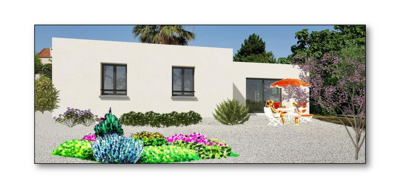 Maisons du constructeur VILLAS PRISME • 90 m² • LE ROVE