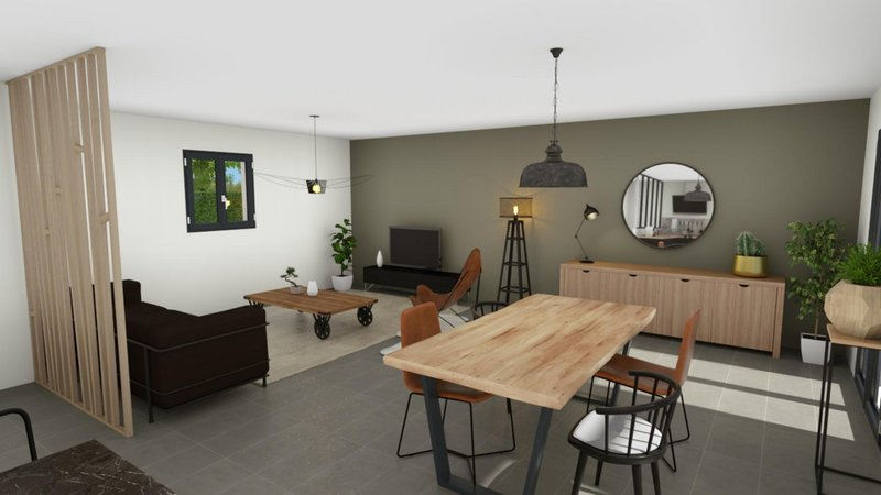 Terrains du constructeur VILLAS PRISME • 864 m² • LA BOUILLADISSE