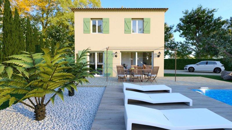 Maisons du constructeur VILLAS PRISME • 86 m² • LES PENNES MIRABEAU