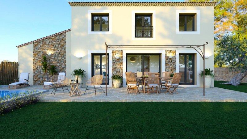 Maisons du constructeur VILLAS PRISME • 95 m² • LES PENNES MIRABEAU