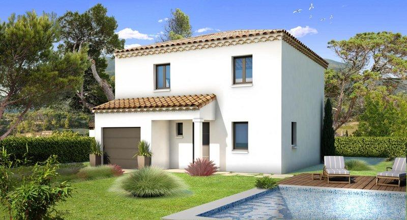 Maisons du constructeur VILLAS PRISME • 80 m² • SAINT CHAMAS
