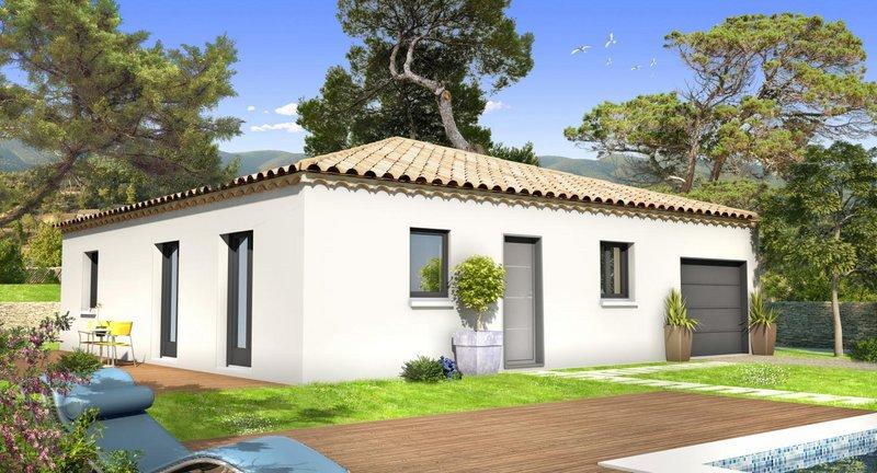Maisons du constructeur VILLAS PRISME • 62 m² • SEPTEMES LES VALLONS
