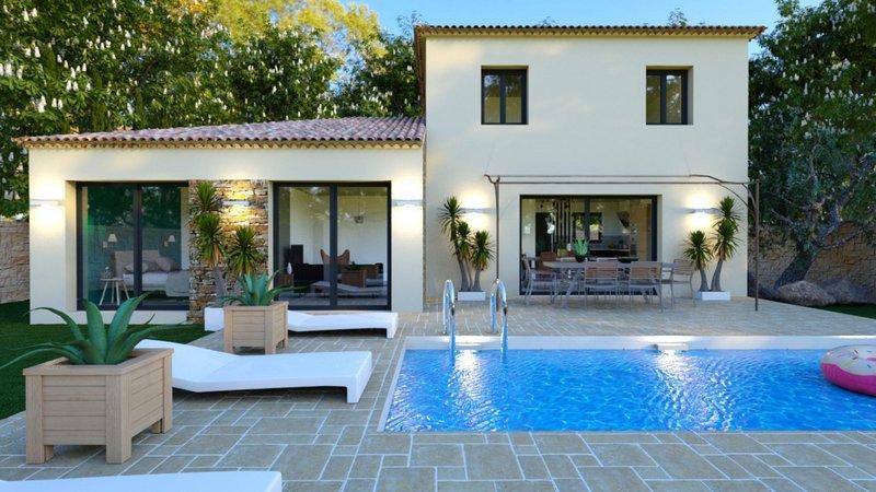 Maisons du constructeur VILLAS PRISME • 120 m² • GREASQUE
