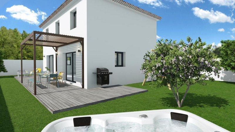 Maisons du constructeur VILLAS PRISME • 90 m² • SEPTEMES LES VALLONS
