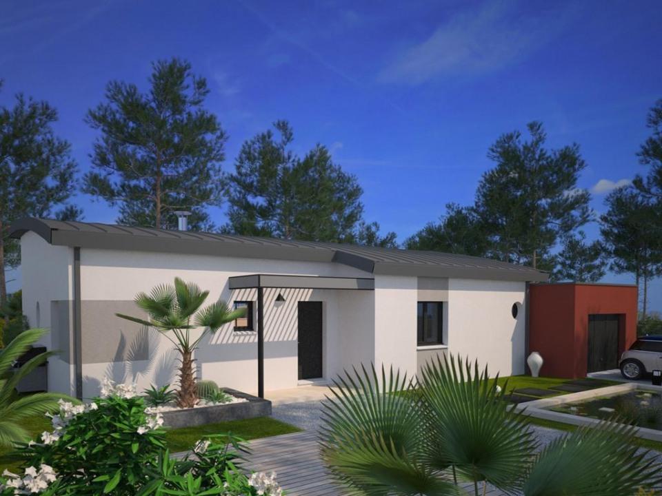 Maisons + Terrains du constructeur MAISON FRANCE CONFORT • 105 m² • CHEVAL BLANC