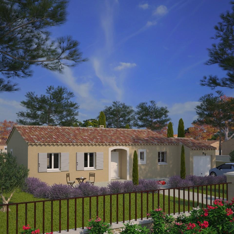 Maisons + Terrains du constructeur MAISON FRANCE CONFORT • 83 m² • CHATEAUNEUF DU PAPE
