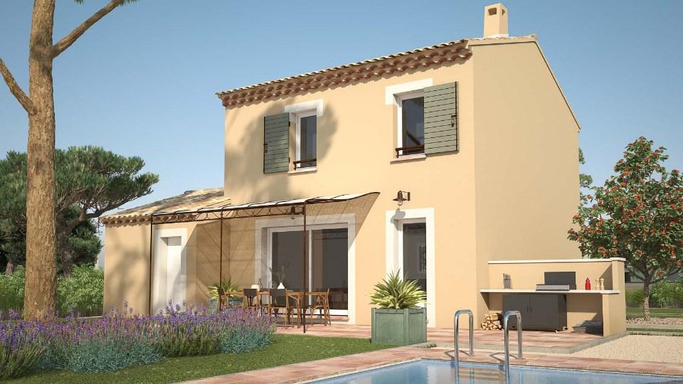 Maisons + Terrains du constructeur MAISON FRANCE CONFORT • 78 m² • CHATEAUNEUF DU PAPE