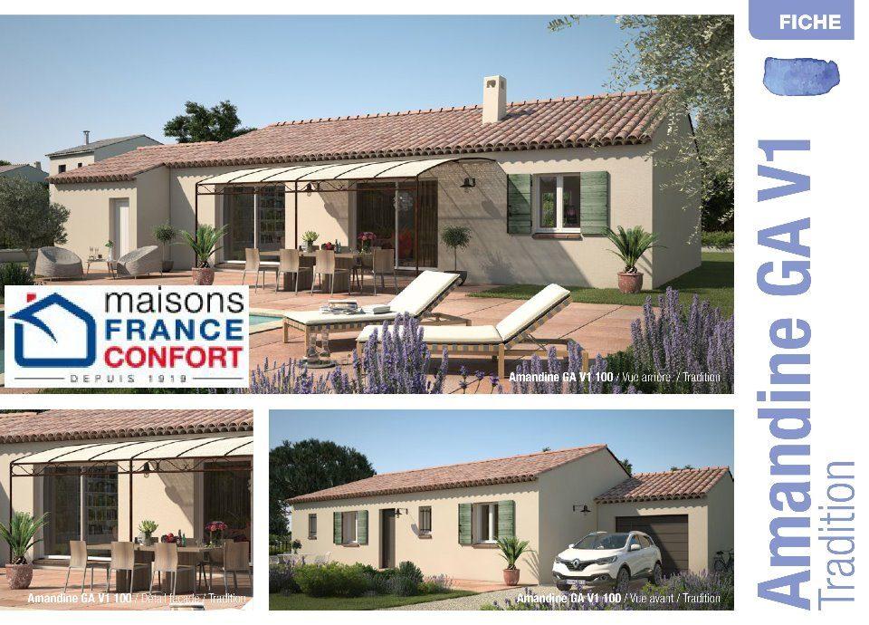 Maisons + Terrains du constructeur MAISONS FRANCE CONFORT • 120 m² • RASTEAU