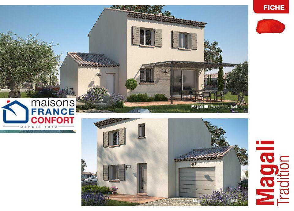 Maisons + Terrains du constructeur MAISONS FRANCE CONFORT • 90 m² • VALREAS