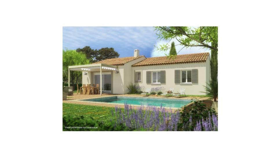 Maisons + Terrains du constructeur MAISONS FRANCE CONFORT • 83 m² • RASTEAU