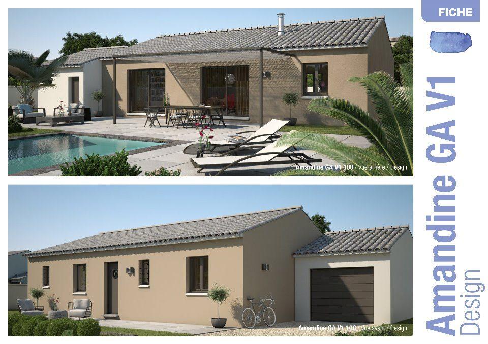 Maisons + Terrains du constructeur MAISONS FRANCE CONFORT • 90 m² • RASTEAU
