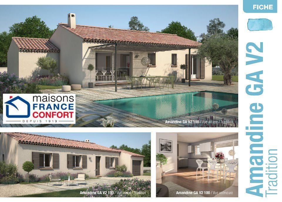 Maisons + Terrains du constructeur MAISONS FRANCE CONFORT • 100 m² • BOLLENE