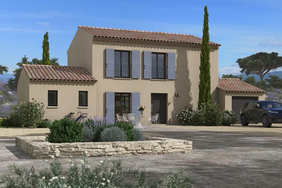 Maisons + Terrains du constructeur MAISONS FRANCE CONFORT • 115 m² • AUBIGNAN