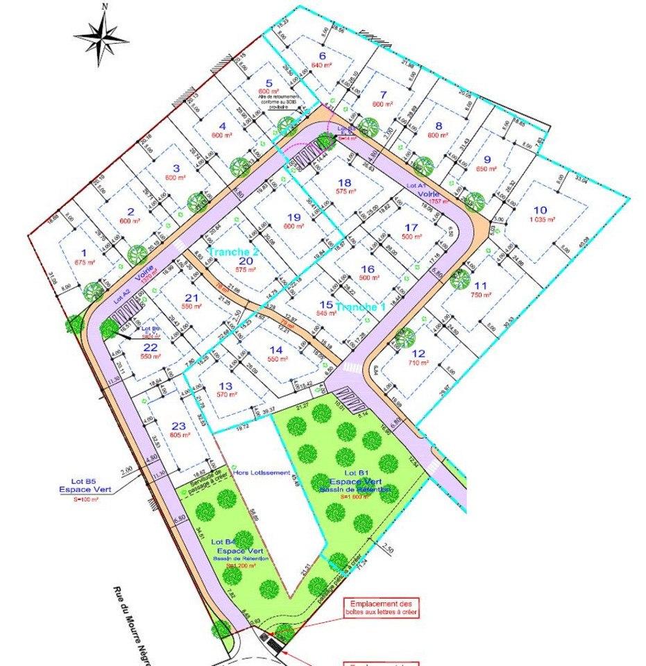 Terrains du constructeur MAISONS FRANCE CONFORT • 750 m² • GARGAS