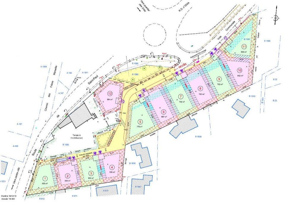 Terrains du constructeur MAISONS FRANCE CONFORT • 500 m² • LAPALUD
