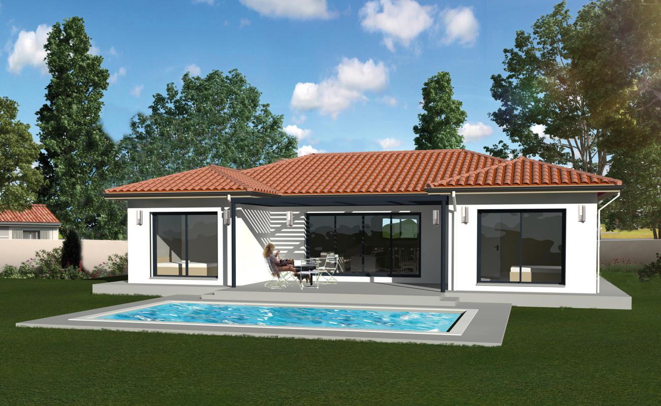 Maisons du constructeur MAISONS LIBERTE • 100 m² • MOURS SAINT EUSEBE