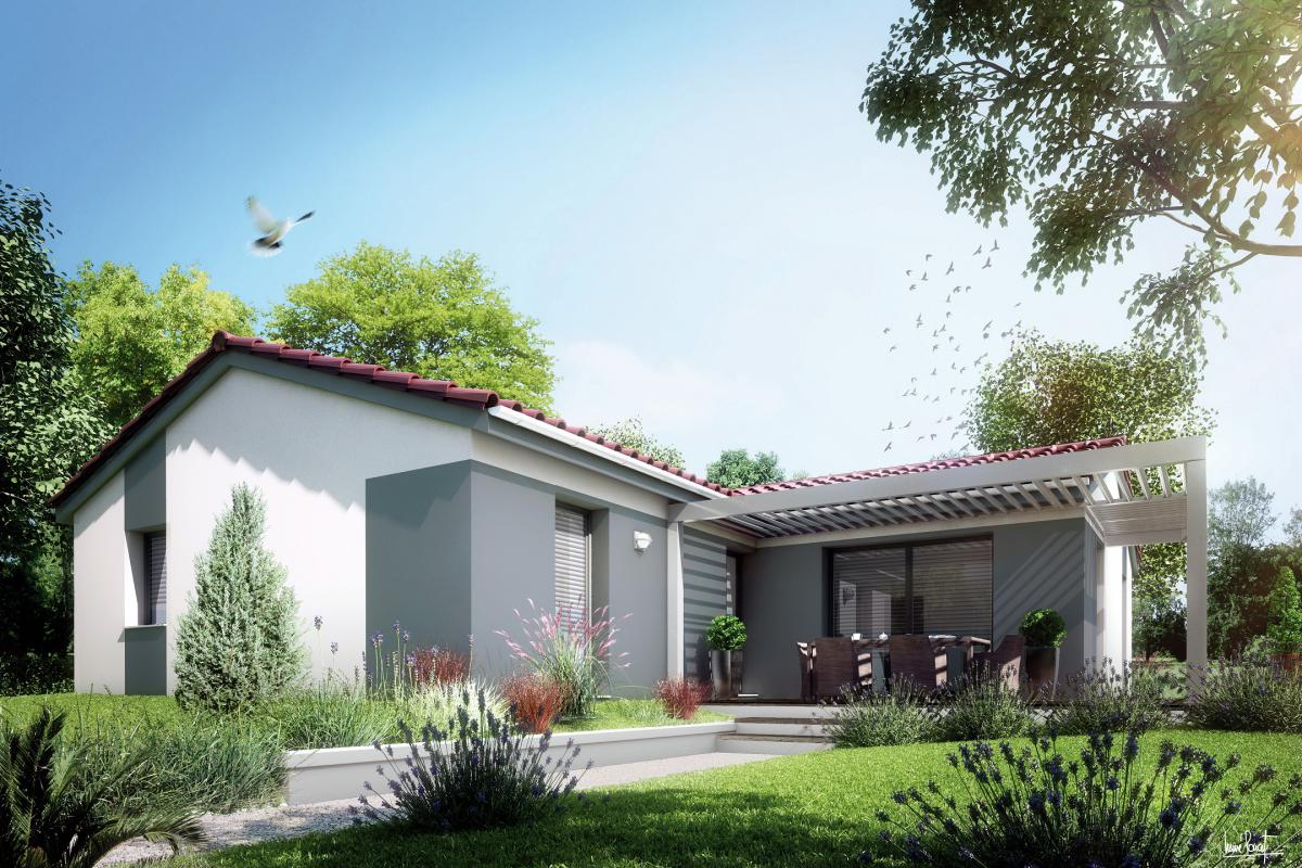 Maisons du constructeur MAISONS LIBERTE • 98 m² • MOURS SAINT EUSEBE