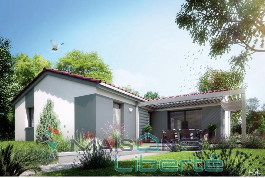 Maisons du constructeur MAISONS LIBERTE • 100 m² • ALBA LA ROMAINE