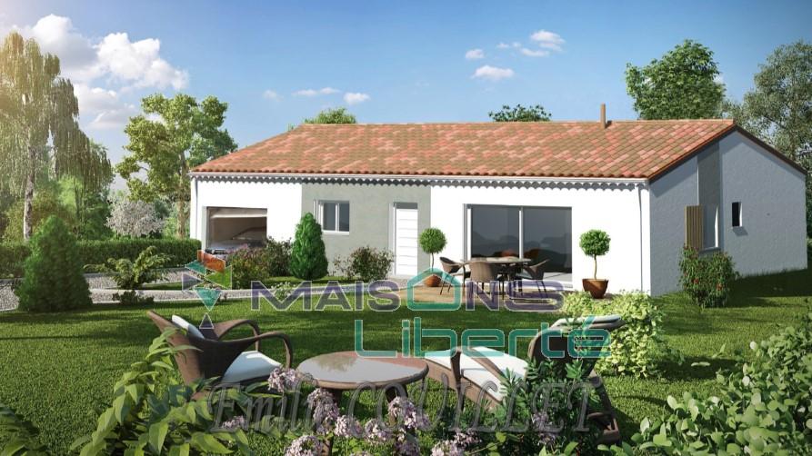 Maisons du constructeur MAISONS LIBERTE • 90 m² • SAINT PAUL TROIS CHATEAUX