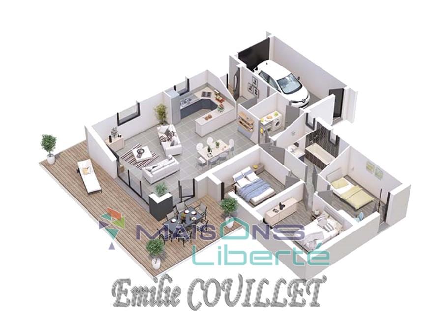 Maisons du constructeur MAISONS LIBERTE • 95 m² • DONZERE
