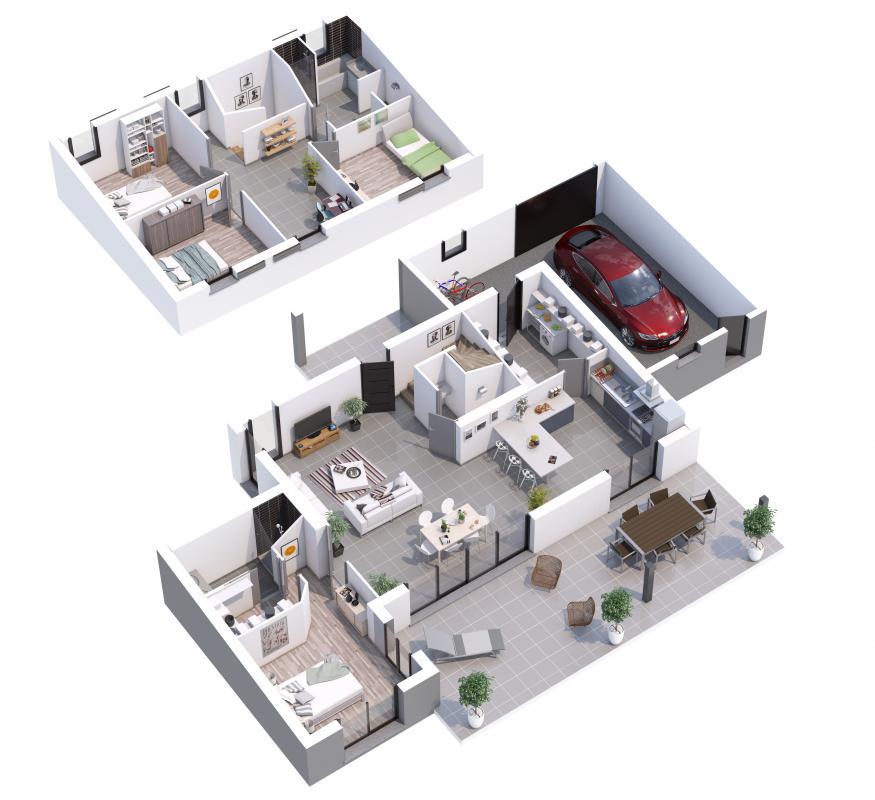 Maisons du constructeur MAISONS LIBERTE • 140 m² • MOURS SAINT EUSEBE