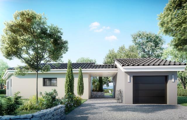Maisons du constructeur MAISONS LIBERTE • 101 m² • MOURS SAINT EUSEBE