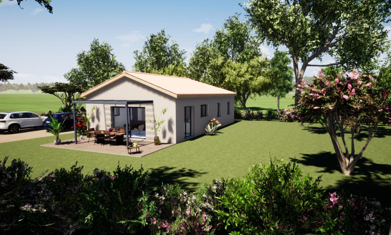 Maisons du constructeur MAISONS LIBERTE • 90 m² • CHATEAUNEUF DE GALAURE