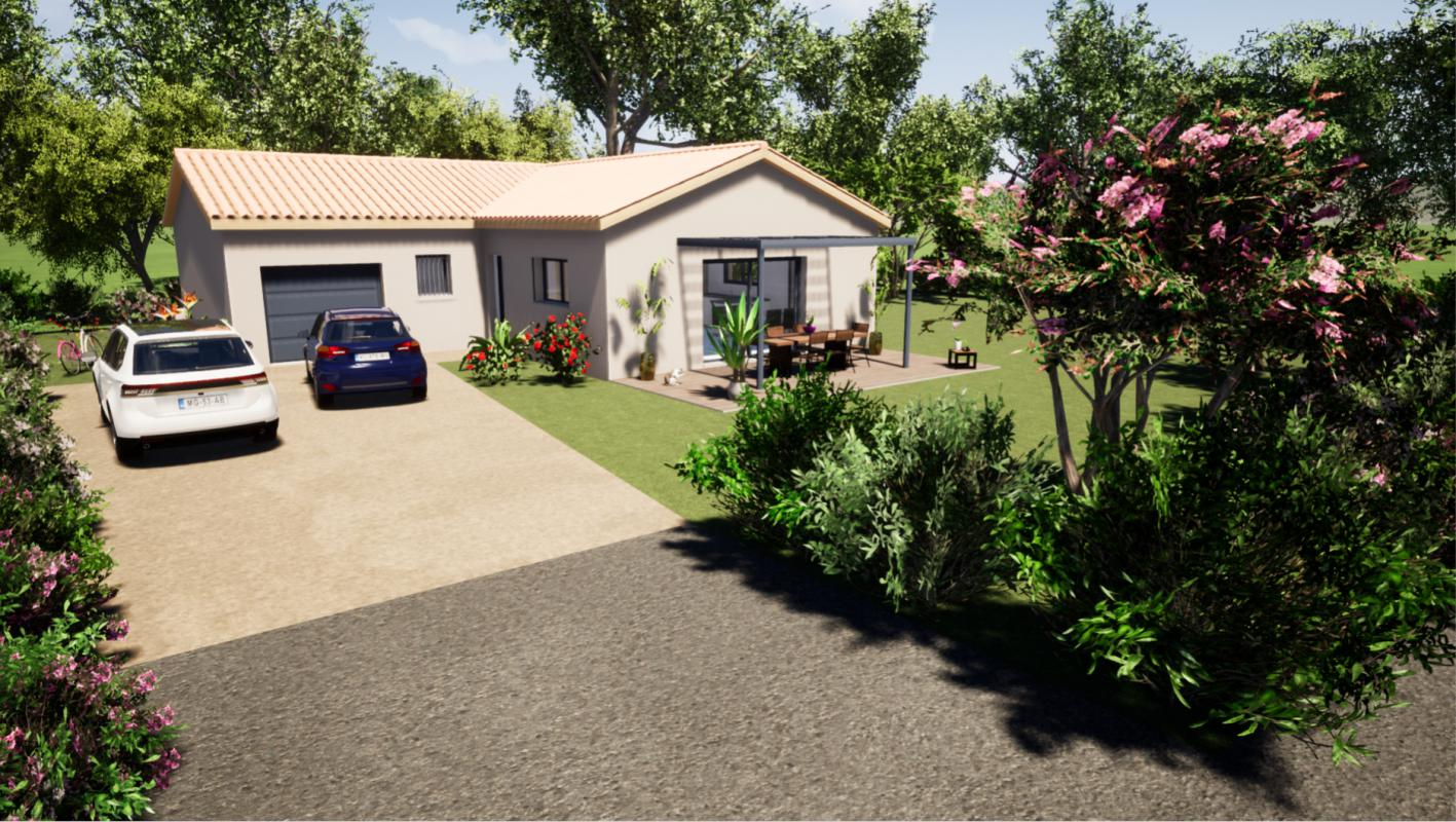 Maisons du constructeur MAISONS LIBERTE • 90 m² • MOURS SAINT EUSEBE