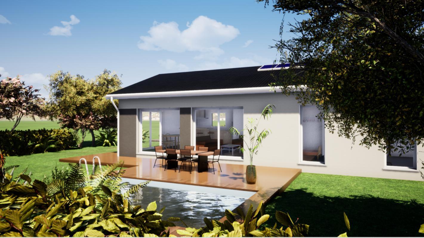 Maisons du constructeur MAISONS LIBERTE • 95 m² • SAINT DONAT SUR L'HERBASSE