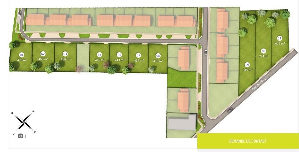 Terrains du constructeur MAISONS FRANCE CONFORT • 410 m² • HENIN BEAUMONT