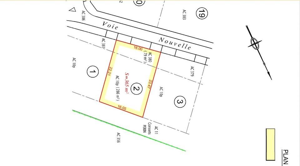 Terrains du constructeur MAISONS FRANCE CONFORT • 365 m² • ANGRES
