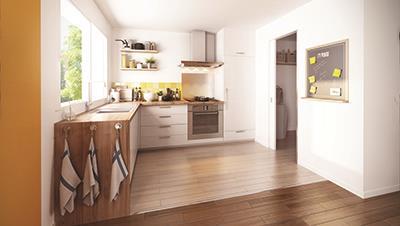 Maisons + Terrains du constructeur MAISON FAMILIALE VILLE DU BOIS • 110 m² • MILLY LA FORET