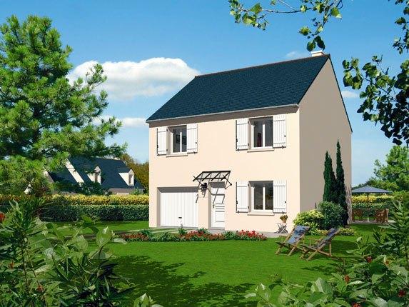 Maisons + Terrains du constructeur MAISON FAMILIALE VILLE DU BOIS • 80 m² • MONTLHERY